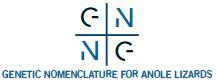 Genetic Nomenclature for Anole Lizards